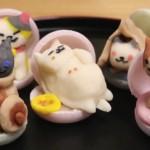 おなじみの「ねこあつめ」キャラが練り物に!猫好き必見な愛らしい和菓子の作り方