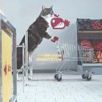 爆笑必至!?コミカル要素満載な猫だらけのスーパーマーケット