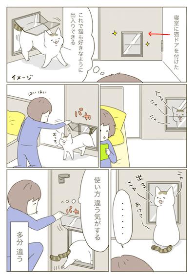 1P_猫ドア