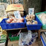 八百屋の看板猫さんが野菜の隣に自分を陳列!非売品だけどおさわりOKニャ